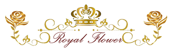 Logo Bloembinderij Royal Flower in Zeist